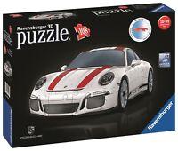 PUZZLE 3D RAVENSBURGER 12528 PORSCHE 911 R  // 3D Jigsaw Puzzle Porsche 911 R
