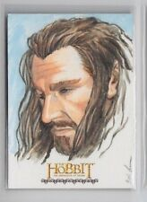Crypotzoic The Hobbit Desolation of Smaug Eric Lehtonen Sketch Card (1/1)