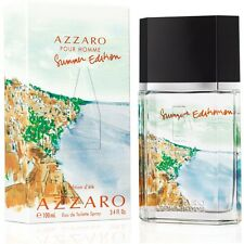 Azzaro Pour Homme Summer Edition EDT Spray 3.4oz 100ml in original new packaging