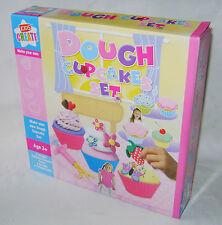 Nuevo hacer tu propia masa Cupcakes Set Con 6 Colores Juego Clay Jeringa casos dcup