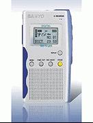 s NEW SANYO ICR-B100 DIGITAL RECORDER / TRANSCRIBER