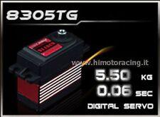 SERVO COMANDO DIGITALE DA 5.5Kg 0,06 sec CON INGRANAGGI IN TITANIO HD-8305TG