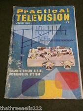 PRACTICAL TELEVISION - ARIEL DISTRIBUTION SYSTEM - AUG 1968