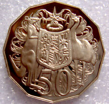 AUSTRALIA: 1992 50 CENTS PROOF COAT OF ARMS