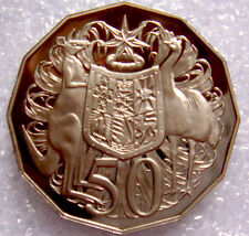 AUSTRALIA: 1997 50 CENTS PROOF COAT OF ARMS