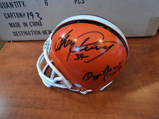 OZZIE NEWSOME, BRIAN SIPE GREG PRUITT Signed CLEVELAND BROWNS Helmet GAI GLOBAL