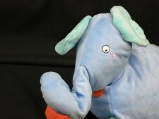 IKEA STORE PLUSH BARNSLIG ELEFANT LOVEY BLUE ELEPHANT STUFFED ANIMAL FLOPPY TOY