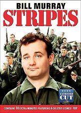 STRIPES Extended Cut '80s Comedy dvd BILLY MURRAY Warren Oates JOHN CANDY Mint