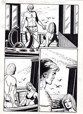 VICENTE FARRES FACE D'ANGE ET LA PEAU DU DRAGON PLANCHE AREDIT PAGE 242 PIN UP