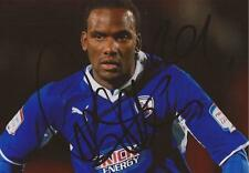 CHESTERFIELD: CRAIG WESTCARR SIGNED 6x4 ACTION PHOTO+COA