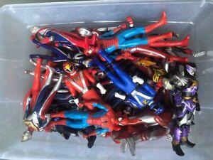 Japan Hero Figures Ultraman Spider-man Kamen Rider Super Sentai Power Rangers