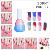 10ml BORN PRETTY Thermal Soak Off UV Gel Polish Glitter Color Changing Varnish