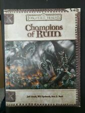 Champions of Ruin (Dungeon & Dragons d203.5 Fantasy Roleplaying Forgotten Realms