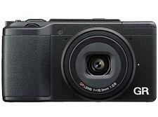 Ricoh GR II Black 16.2MP Wi-Fi Digital Camera Japan Model New
