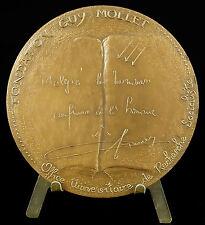 Medaille fondation Guy Mollet de recherche socialiste ...Santucci 1979 medal