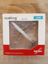 Herpa 533218 - 1/500 Vueling Airbus A321 - Neu