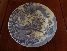 Royal Crown Derby BLUE AVES Dinner Plate? 10.5 Inch