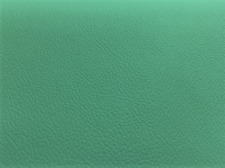 Antique Aqua Teal Blue Textured Faux Leather Upholstery Vinyl