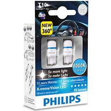 Philips XTREME VISIÓN 360 LED W5W 510 T10 8000K BOMBILLAS LED COCHE (paquete De Dos)