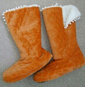 Soft & Cosy slipper boots small/size 3/4