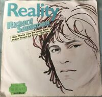 Richard Sanderson - Reality/Paul Hudson - I can't swim (1982)Vinyl Guter Zustand