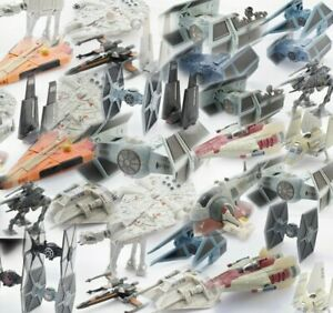 STAR WARS MICRO MACHINE & ACTION FLEET VEHICLES SELECTION - SEE PHOTOS!