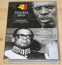 Lumumba / Raoul Peck -  Mobutu, roi du Zaïre / Thierry Michel - Double DVD -Neuf