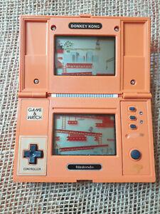 DONKEY KONG NINTENDO GAME & WATCH GAME DK- 52 Multiscreen 1982