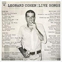 Leonard Cohen - Leonard Cohen: Live Songs [New Vinyl LP] Holland - Import
