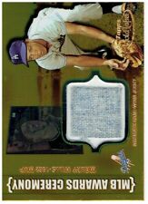 Maury Wills 2002 Topps Gold Label MLB Awards Ceremony Relics Gold Jersey Card