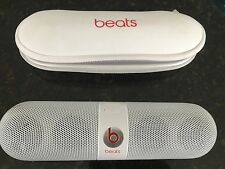 Beats Pill 2.0 Portable Rechargeable Speaker White NO POWER FOR PARTS/REPAIR