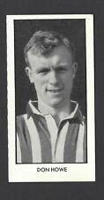 THOMSON - WORLD CUP FOOTBALLERS - #16 DON HOWE
