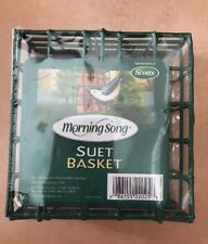 Scotts - Outdoor - Morning Song - Suet - Basket - Bird - Feeder - House - New (V