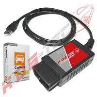 ELM327 Diagnoseinterface Vollversion USB EOBD für Opel Mercedes BMW Fiat uvm.