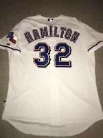 Authentic Josh Hamilton Texas Rangers On-Field Majestic Jersey 52 2XL (6300)