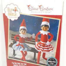 Elf on the Shelf Claus Couture ~ Twirling in the Snow Skirt Outfits Accessories