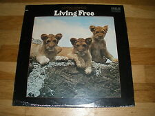 LIVING STRINGS living free LP Record - Sealed