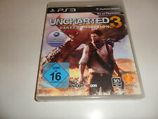 PlayStation 3 PS 3  Uncharted 3: Drake's Deception