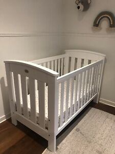 Boori Country Collection Cot. Classic, White