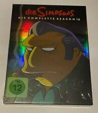 4 DVD Box TV-Serie Die Simpsons Die komplette Staffel Season 18