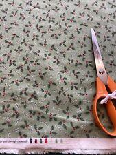 One  Metre Moda  Brushed Cotton Christmas Fabric . Folk Art , Crafts Etc