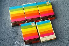 Polaroid 108 Film !! 5 New Old Stock Packs from the 1970s !! May or May not Work