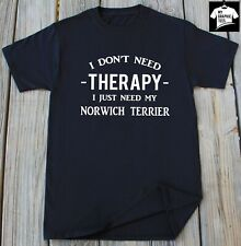 Norwich Terrier T-Shirt Dog Breed Pet Adopt Dogs Animal Lover Gift Dog Owner Tee