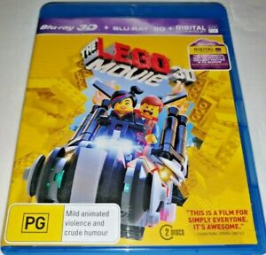 Lego The Movie Blu-ray 3D