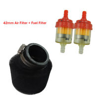 42mm Air Filter Fuel Foam Cleaner For 125cc 140cc Pit Dirt Bike ATV Motorcycle