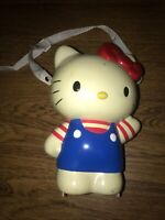 Vintage Hello Kitty SANRIO Carrying Case 1999 Toy Figure With Strap