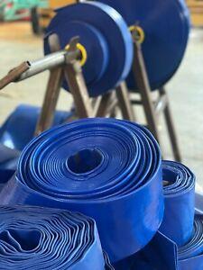 Blue Layflat Discharge Hose
