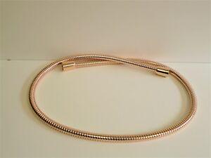 Brauseschlauch Metall Rose-Gold, Cyprum, Metallbrauseschlauch, !!!Alle Längen!!!
