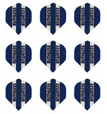 Ruthless Navy Clear Panel Standard Micron Dart Flights - 3 sets(9 flights)