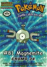 MAGNEMITE # 34, YEAR 1999, SANTIZO EDITORES, SPANISH EDITION, IN MINT CONDITION